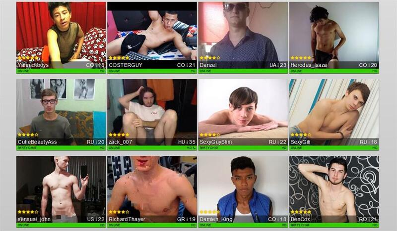 Hot men and naughty guys on live porn cams
