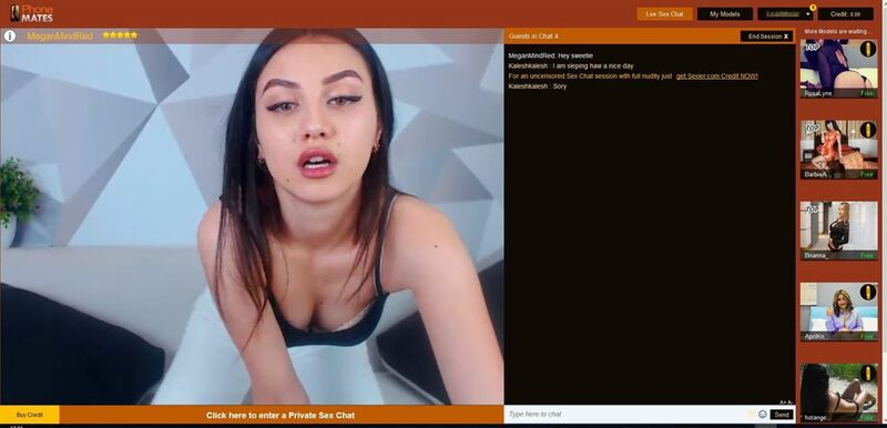 Sexy PhoneMates cam model